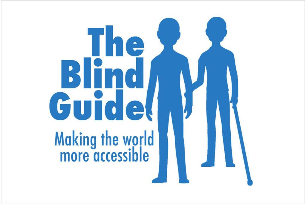 Logo for The Blind Guide, a popular blog