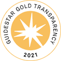 Image of the GuideStar 2021 Gold Seal of Transparency