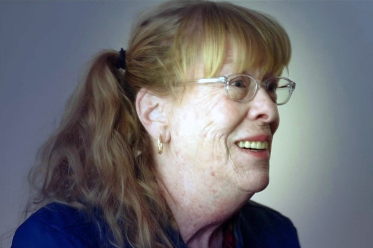 Photo of client Susan Lieberman