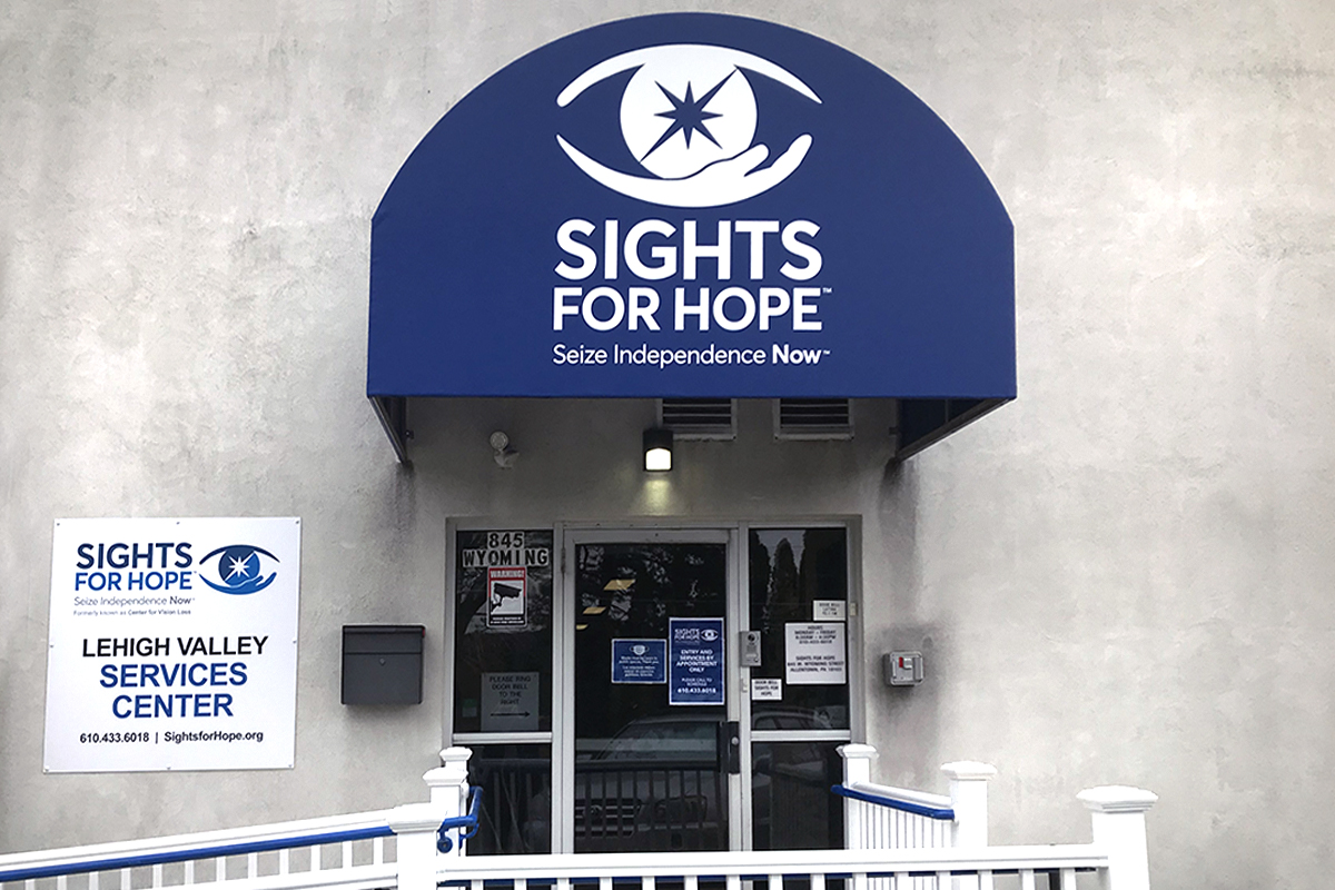 Photo of the exterior of our Lehigh Valley Services Center