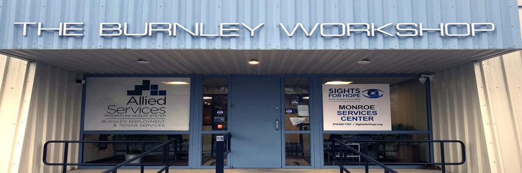 Photo of our Monroe Services Center at The Burnley Workshop