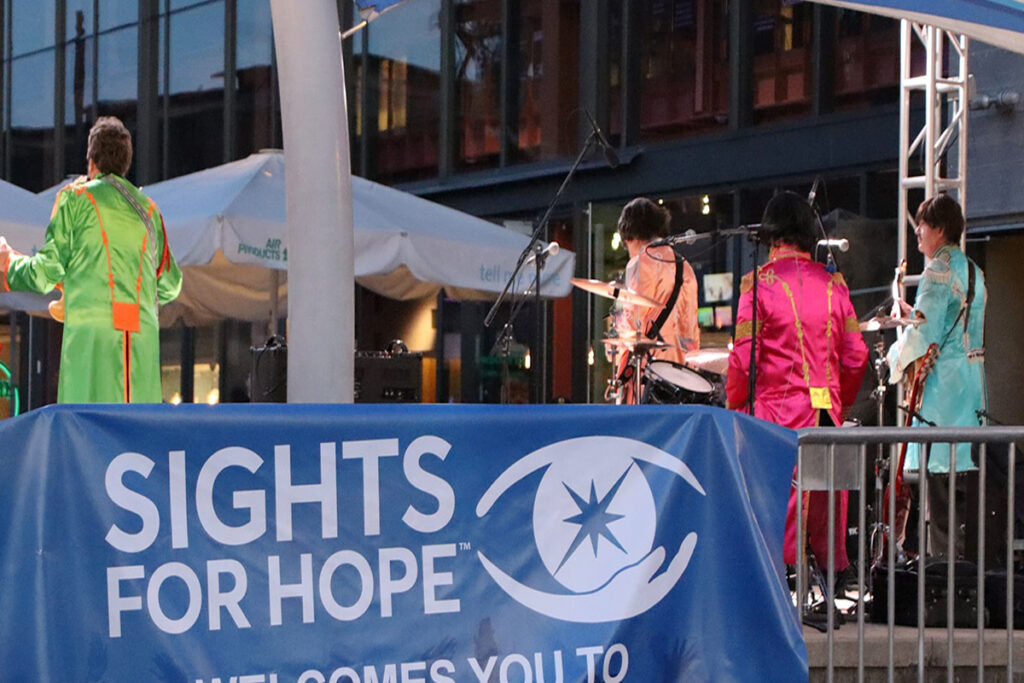 Photo from the Songs4Sight 2021 concert